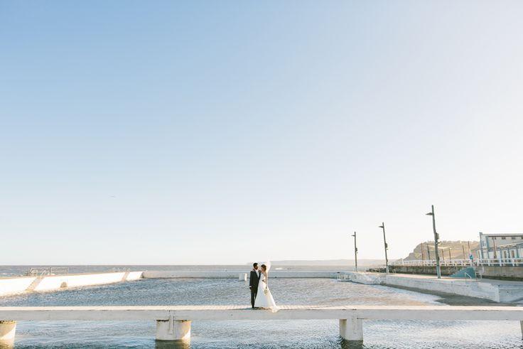 Newcastle wedding photography. Newcastle Baths. Image: Cavanagh Photography http://cavanaghphotography.com.au