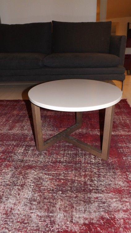 Tavolino Coffe table Hill Misuraemme Argilla - Angolo Design.