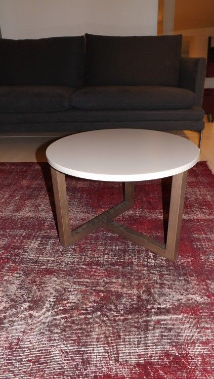 Tavolino Coffe table Hill Misuraemme Argilla - Angolo Design.