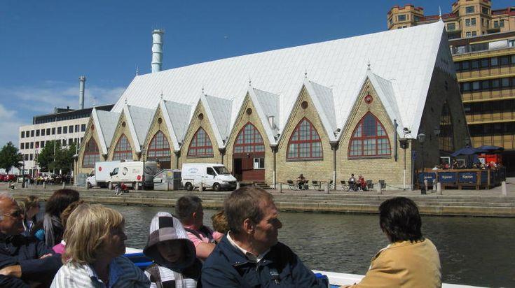 "Paddan-Tour in Göteborg: Feskekörka (die ""Fischkirche"")"