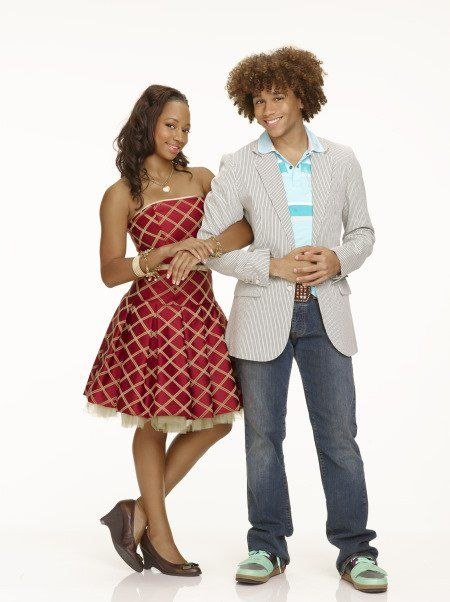 corbin bleu and monique coleman in high school musical 2 2007