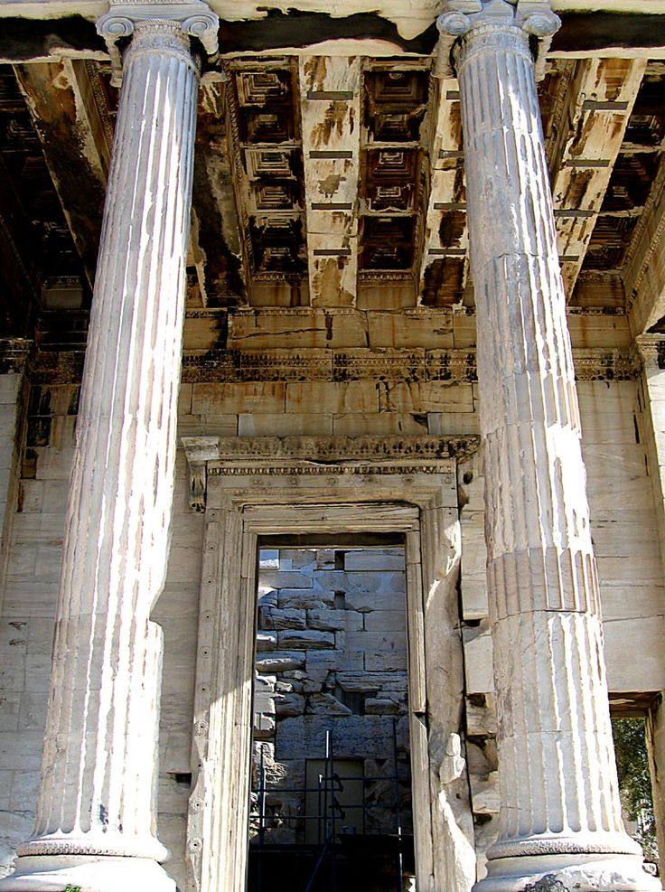 influence of greek and roman temples Indirectly –greek architecture influenced roman architecture, which influenced renaissance architecture  and had a true influence on americas capital buildings for  •photos of temples and other architecture that contain that type of column (both ancient and modern).