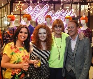 Mary Portas with the Coronation Street Cast