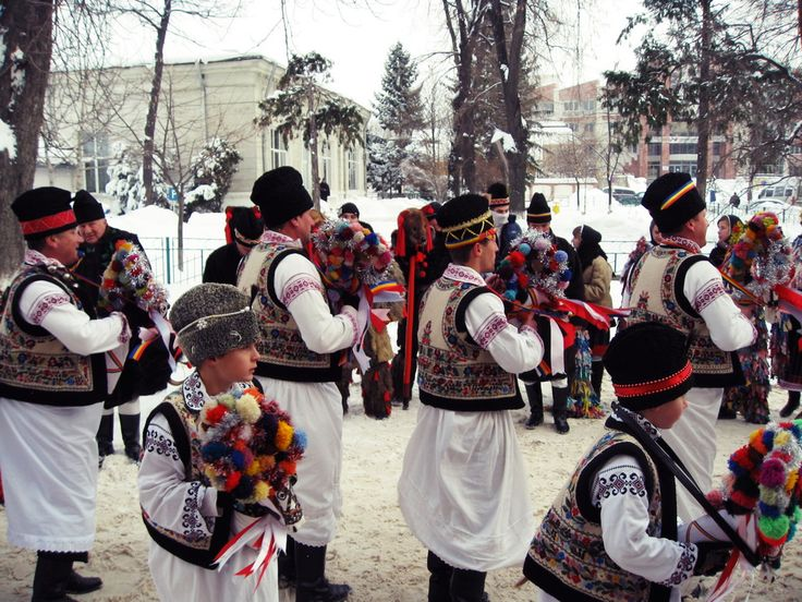 New Year's Traditions and Customs in Romania. #NewYear #tradition #travel #Romania #2015