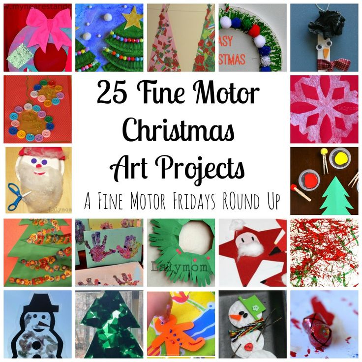 20 Cute Christmas Crafts For Toddlers Christmas Art