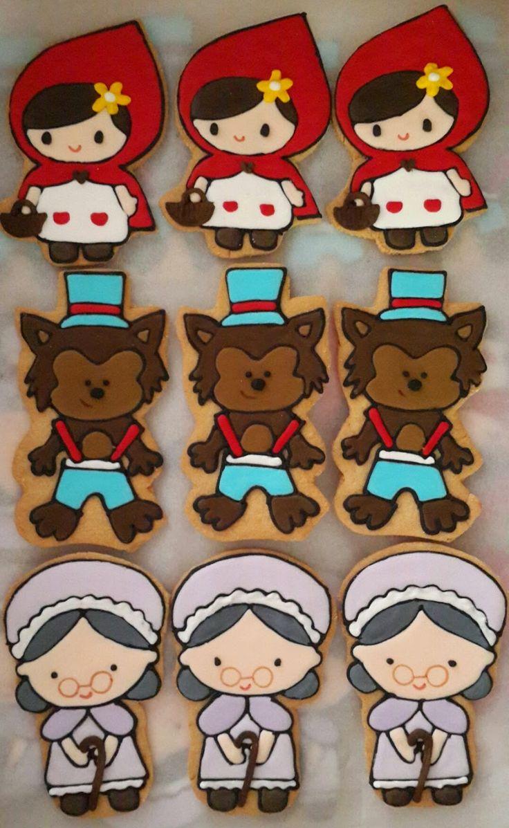 biscoito chapeuzinho vermelho - Pesquisa Google