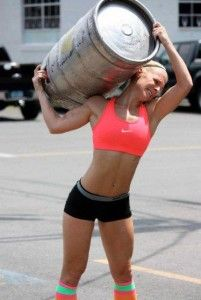 Strongman training for fat loss is one of the best fat loss methods. www.functionalfitmag.com