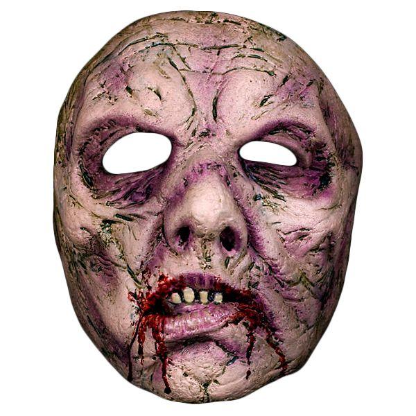 Sulten Zombiemaske - Skumle Halloween masker