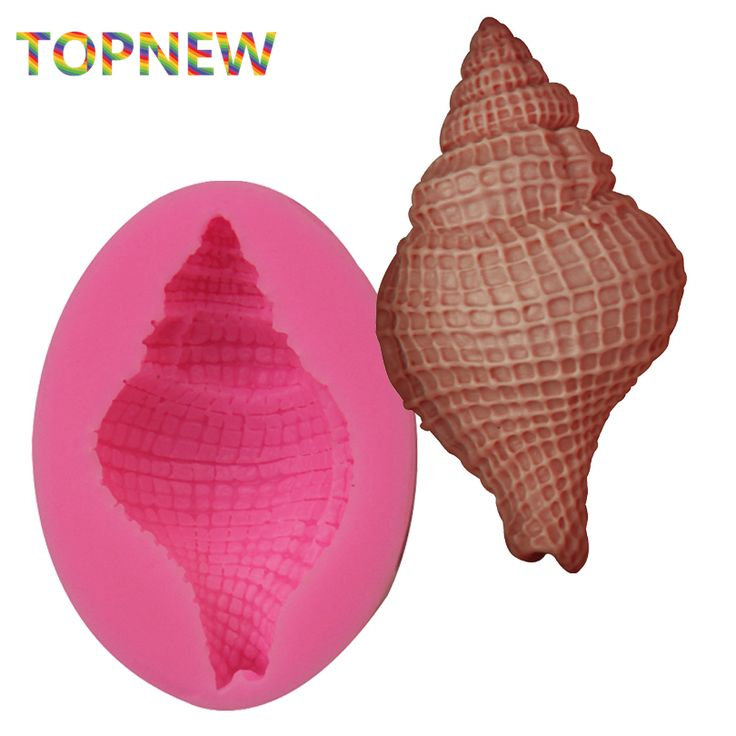 Aliexpress.com : Buy 3D Conch Shell Silicone Fondant Chocolate Mould Soap Mold Paste Candy Cake Decorating Tool from Reliable cake decorating tools suppliers on Doinb Ali Store