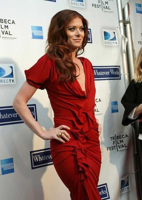 Debra Messing at the Tribeca Film Festival in 2009...