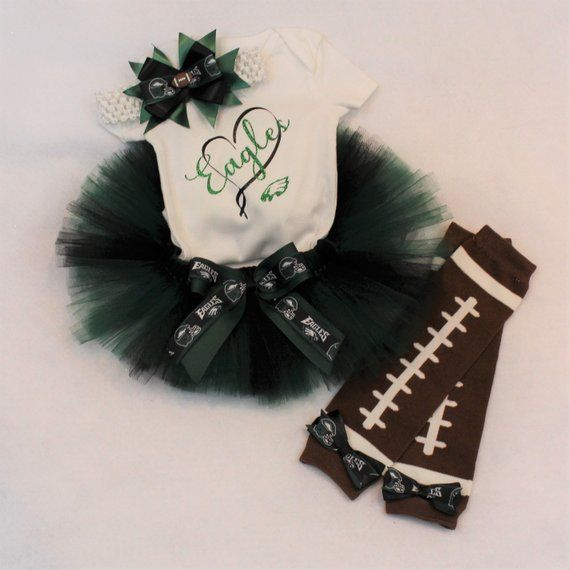 fa09bf34d Philadelphia Eagles Tutu Outfit  Eagles Baby Outfit  Eagles Onesie ...