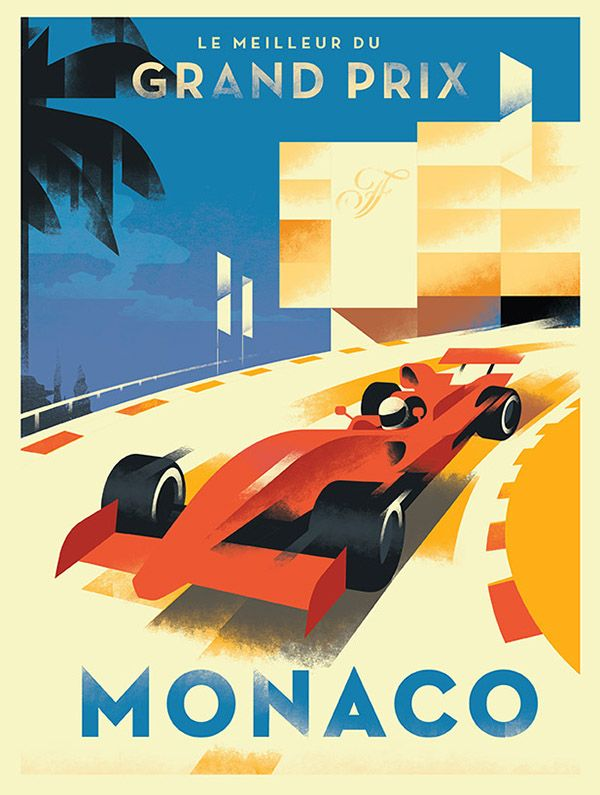Fairmont Group / Grand Prix Monaco on Behance