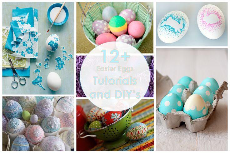 Easter eggs decor DIY, пасхальный декор яиц своими руками