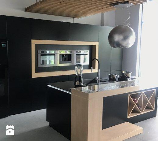 Realizacje - Kuchnia, styl nowoczesny - zdjęcie od HOSTA MEBLE black kitchen | modern | inspiration