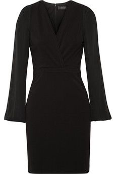 Gucci Silk-paneled stretch-jersey mini dress   NET-A-PORTER