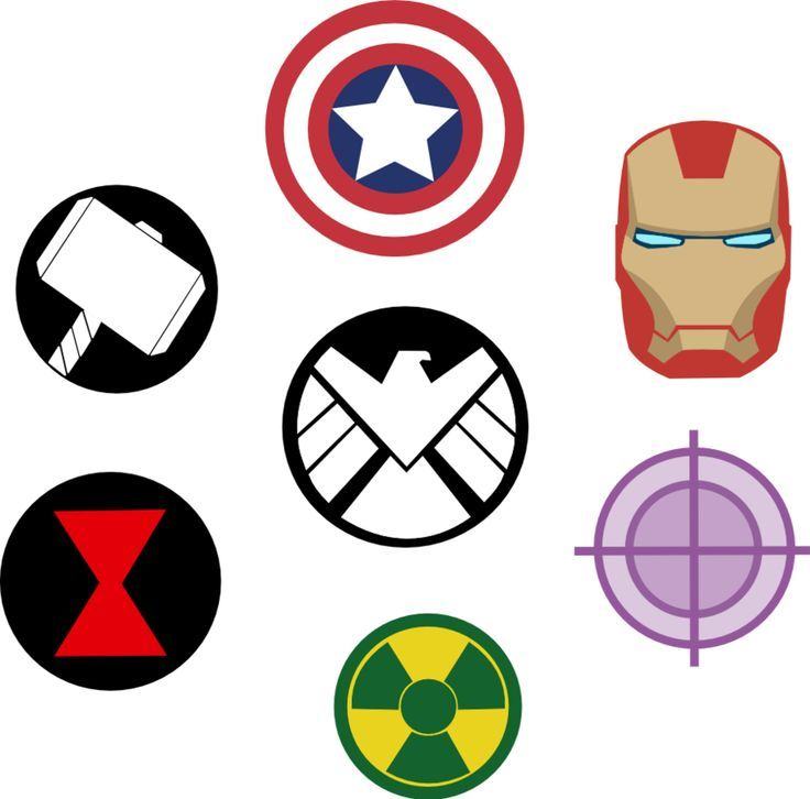 Marvel Avengers Symbols by Captain-Connor on deviantART11st grade - Visit now to grab yourself a super hero shirt today at 40% off!