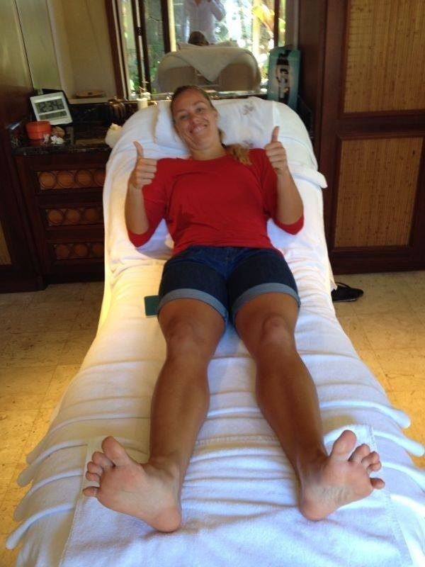 Angelique Kerber's Feet << wikiFeet