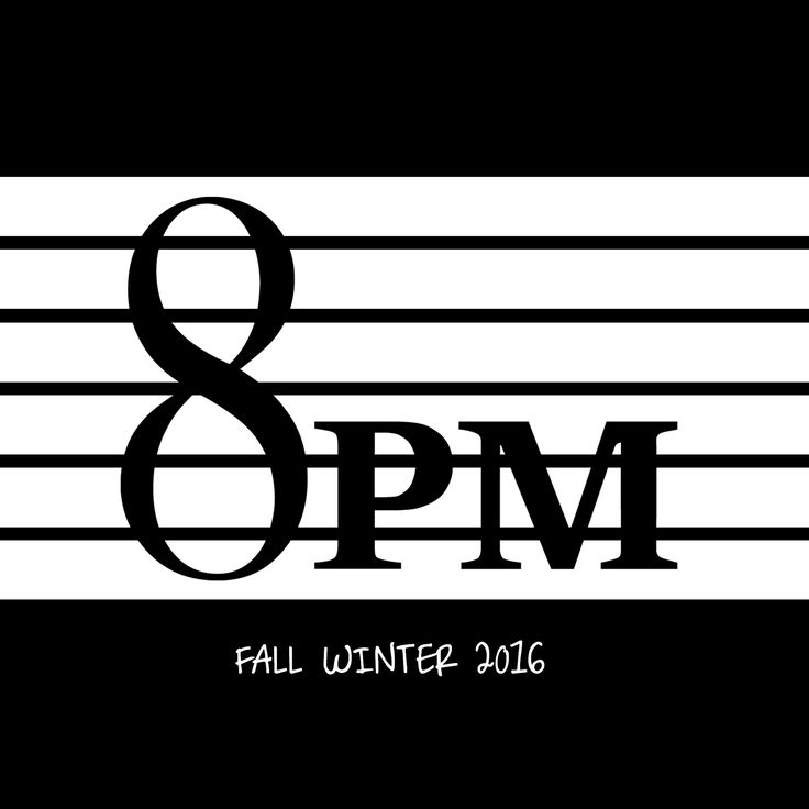8PM FALL WINTER 2016