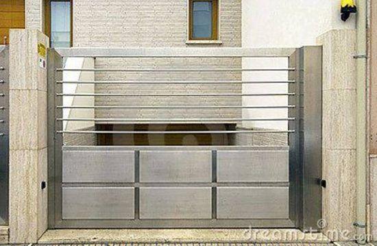 Contoh Foto Desain Pintu Gerbang Minimalis | Minimalis ...
