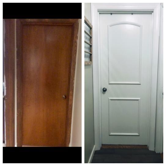 Ez Door 28 In 30 In And 32 In Width Interior Door Self Adhering Decorative Frame Kit Ezd Fr 30 The Home Depot In 2020 Replacing Interior Doors Inside Front Doors Painted Interior Doors