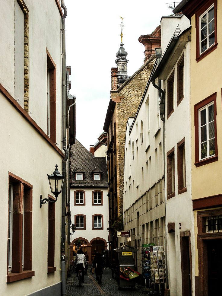 The wonderful city of Mainz in Germany.