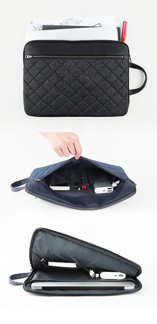 Once you fall in love with the Large Table Talk Quilt Pouch, you can never go back to any other 11-inch versatile laptop pouch again! The very well-made and stylish Large Table Talk Quilt Pouch has 3 compartments, 3 pockets & a handle so you can get the most out of your awesome pouch! It is also water resistant for those walks in the rain from work & school to the car & bus! No more worries of damage to your laptop, iPad, books, papers, charger, phone, calculator, pens and pencils…