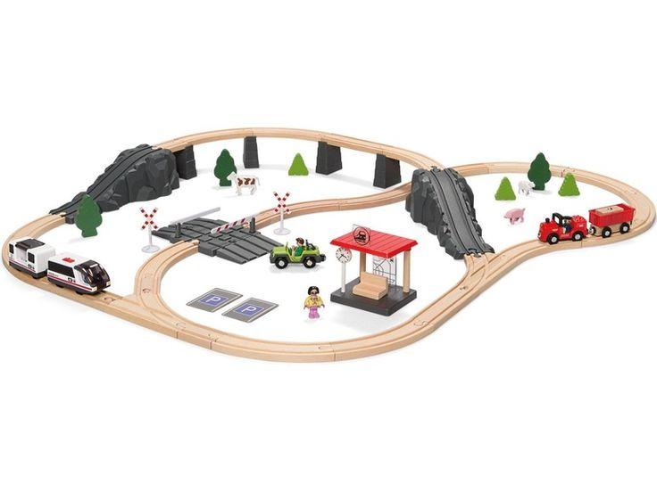 Dřevěná železnice