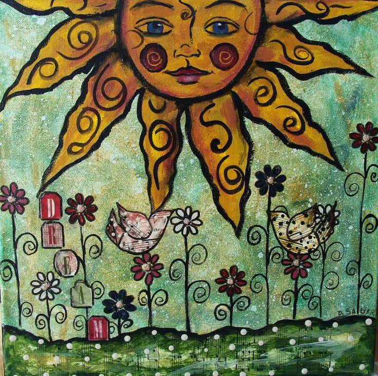 whimsical art | My Art Journal: Finally--2 New Pieces for Etsy, and About Resolutions