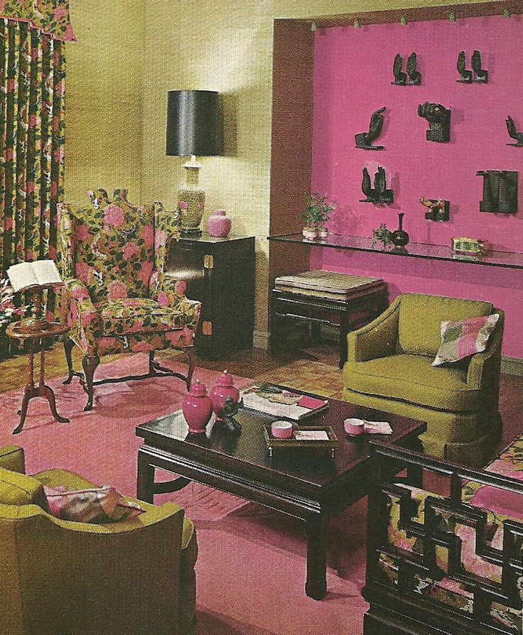 860 best designs from the past images on pinterest for 1960s decoration