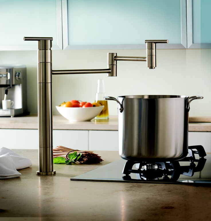Great Design! Parma Potfiller by Danze.com | Danze Kitchen