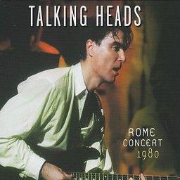 Talking Heads - Rome Concert 1980 (CD) #talkingheads