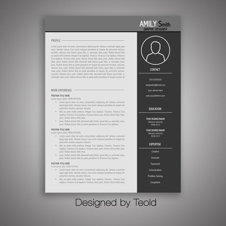 7 Free Resume Templates: 7 Best Functional Resume Template Images On Pinterest