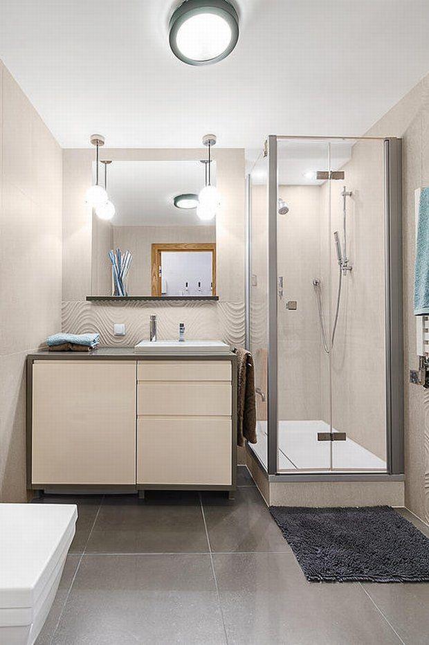 Zdjęcie numer 7 w galerii - Aranżacja małej łazienki z prysznicem