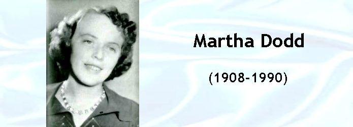 martha dodd ambassador's daughter | Martha Dodd | Thomas ...