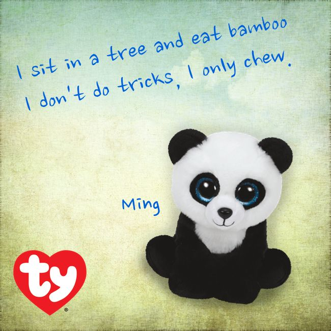 Ming The Panda Is A New 2015 Beanie Baby Beanie Babies