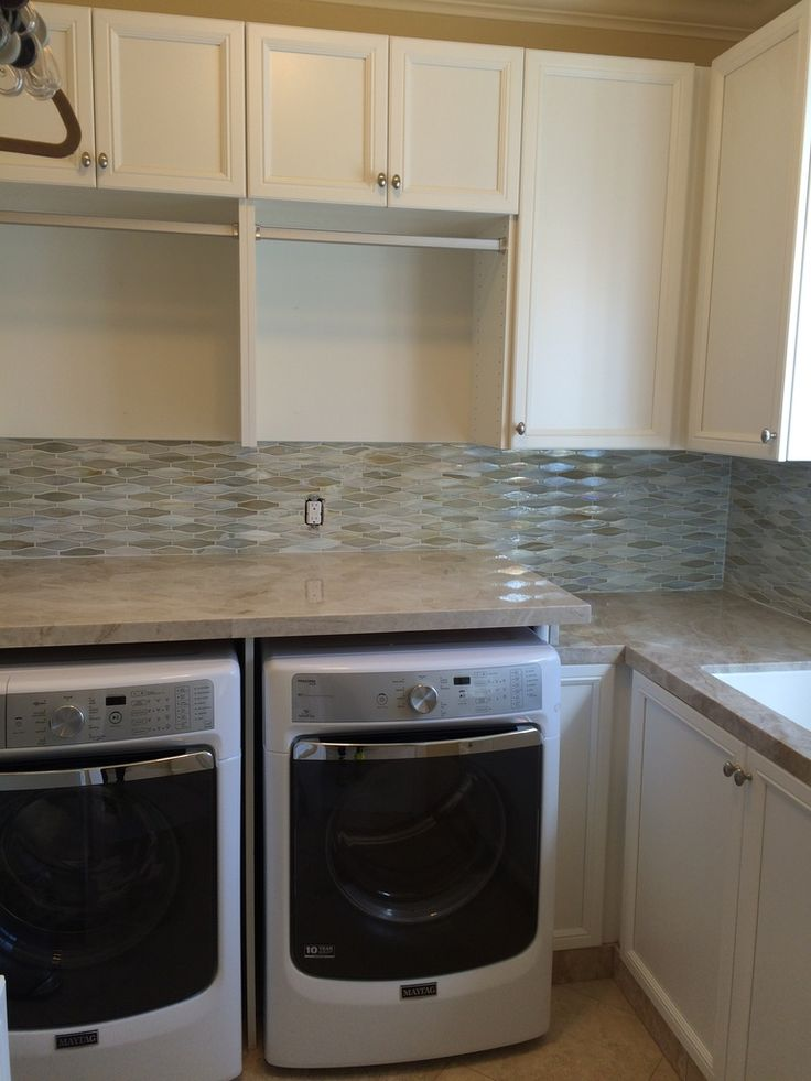 Lunada Bay Tile Shines In This Laundry Room Refresh By
