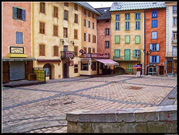 The town square  by Giancarlo Gallo