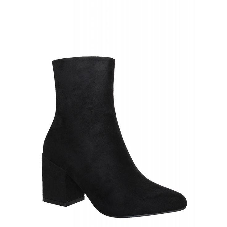 Zapatos negros de punta abierta formales Howsty para mujer QzfW1j5oA