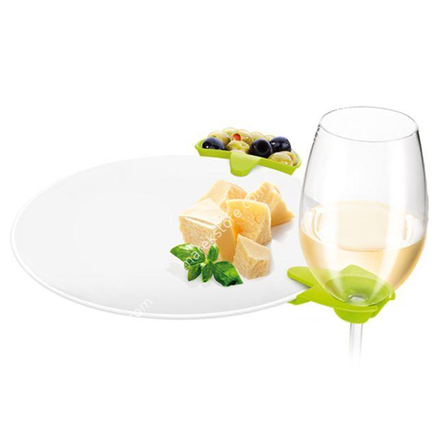 Klipsy talerzowe do zawieszenia lampek wina - 6 szt | Tescoma | 32,90 zł