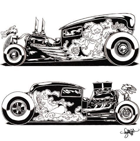 Tattoos designs symbols rats inspiration2 in addition Gearbrain Art moreover Wiring 101 Basic Tips Tricks Tools Wiring Vehicle moreover Draw Tite Prepares For Mission Give Back Rebates For A Cause moreover  on street rod picture galleries