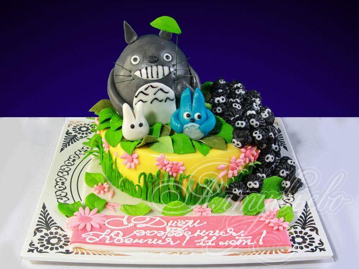 Торт на тему японских аниме