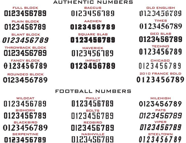 Number Jersey Font Recherche Google Art And Crafts