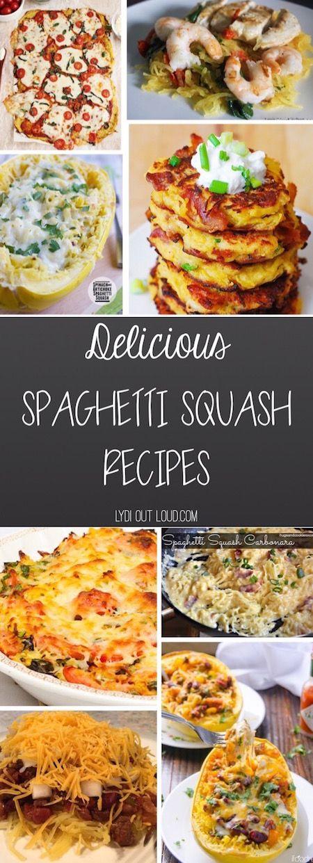 Delicious familiar recipes made with spaghetti squash!