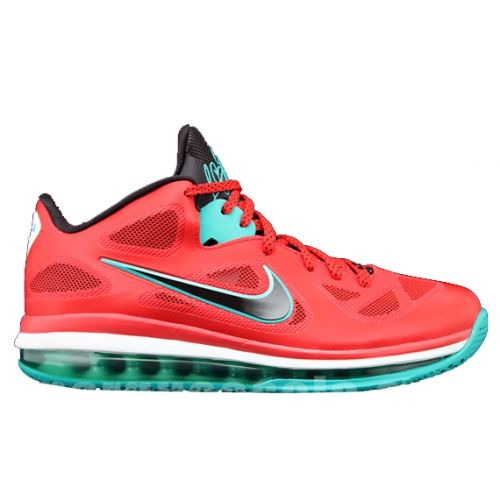 Nike LeBron 9 Low Liverpool Action Red Black White New Green