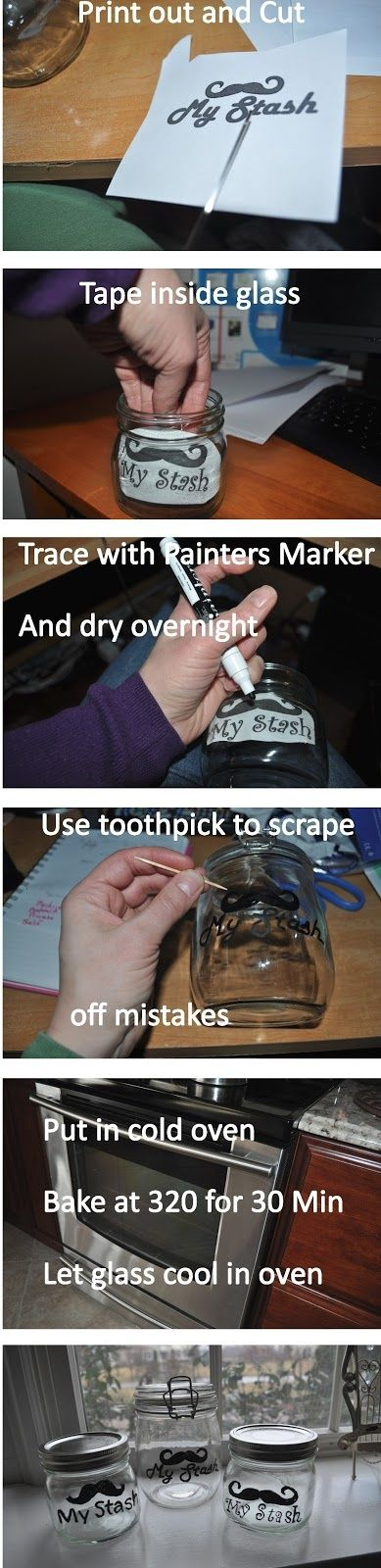 So Easy!!! Take any printable you want and make a jar label!