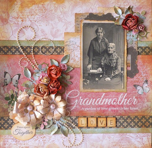 ADRIANA BOLZON  **  AB  INSPIRATIONS: Generations paper collection - Kaisercraft