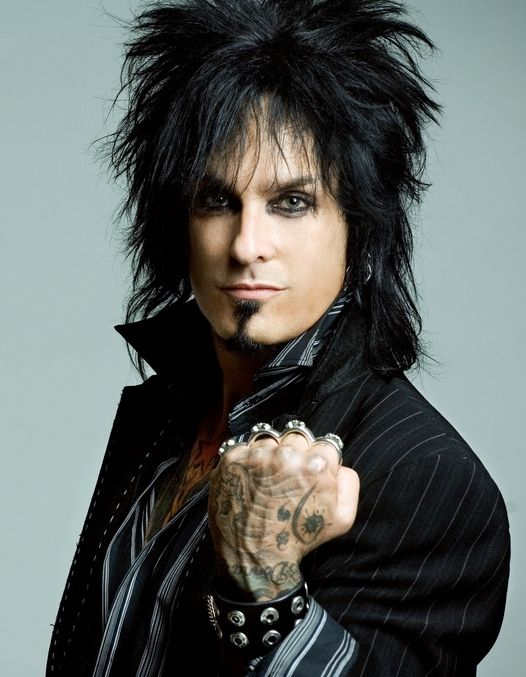 Nikki Sixx. Le sigh. He's gorgeous. When you have been through what he has and come out on top all I have to say is, hell ya.