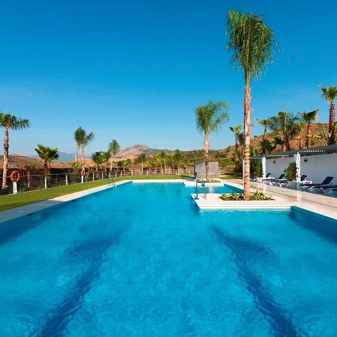 Stunning swimming pool at Marbella property - now available #Lifestyle #Photography #Luxury #Property #Realtor #RealEstate #Home #Design #HomeDecor #HomeDesign #رفاهية# الملكية #Spanish #Travel #Weekend #Chill