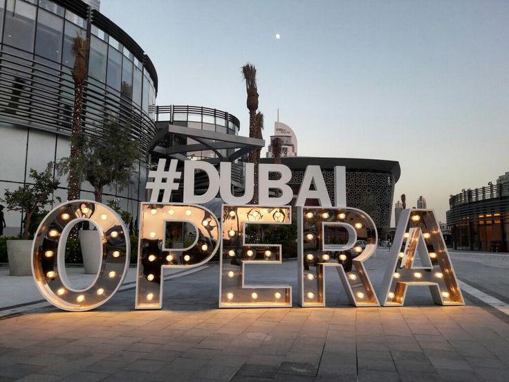 Dubai opera. Lovely place