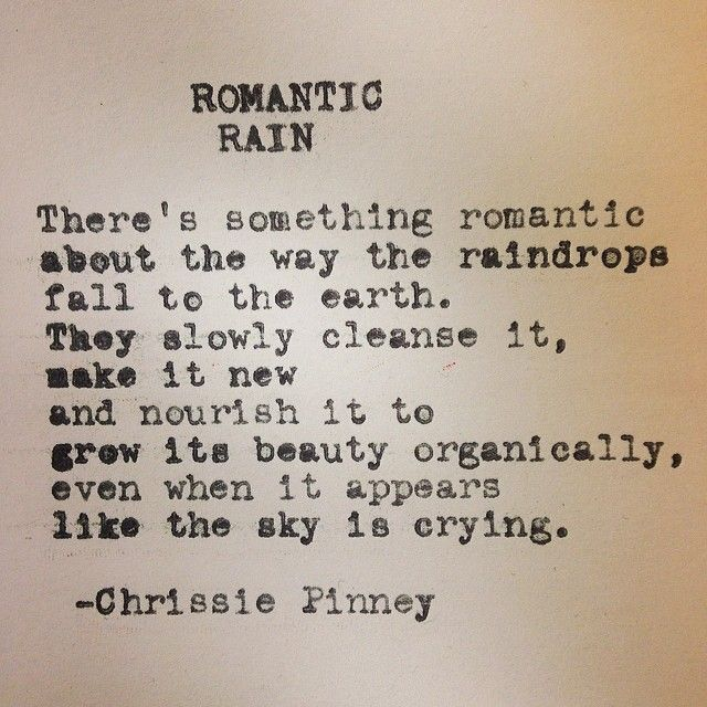 Romantic Rain. Rebuild series no. 37